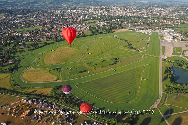 Cheltenham Racecourse.