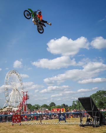 Jamie Squibb's Motorbike Stunt Show