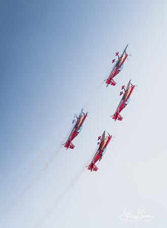 Extra 330XL Royal Jordanian Falcons Display Team.