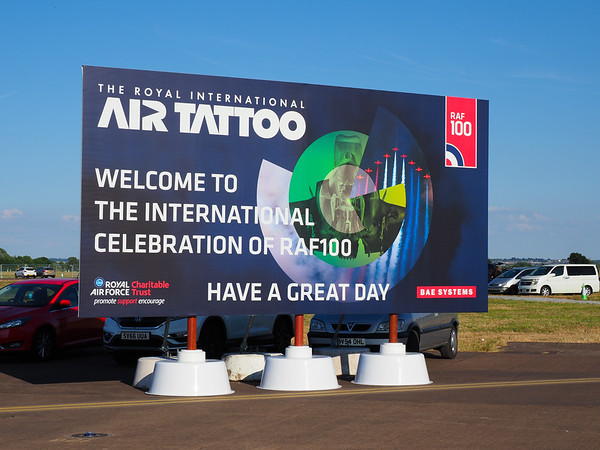 Welcome to the RIAT at Fairford 2018 (Sunday)