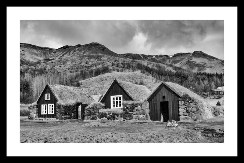 Icelandic village near Skogafoss