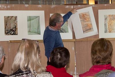 John Hooton presenting some of his close-up work