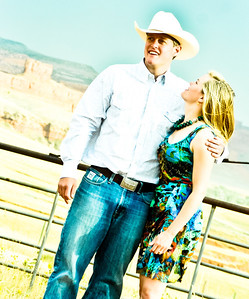 Wyoming engagement photographs