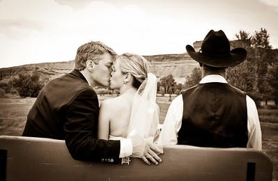 Wyoming engagement photographs