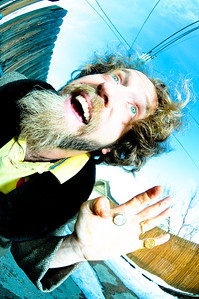 Josh blue portrait session