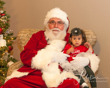 D R Horton Houston South Photos with Santa