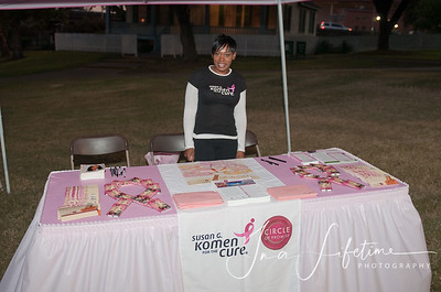 2010 Annual Sus G Komen Race for the cure held in Houston Texas at Sam Houston Park.  Special guest was Cirle of promise global ambassador, Lisa Raye