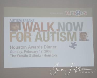2007 Houston Walk Now for Autism Awards Celebrations