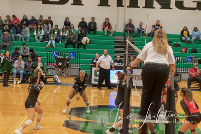 Spring High School Girl's Volleyball Senior Night