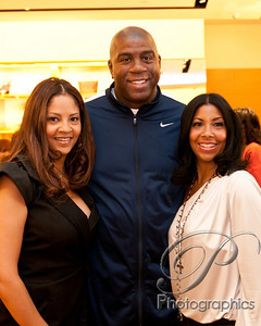 Tracy Mourning and Cookie Johnson held events at the Northpark Mall in Dallas Texas during All Star weekend.  tracy's event was at Louis Vitton and Cookie's event was at Neiman Marcus