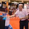 Bill Mapes, EquipLease Financing, at the Cox booth.