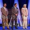 2016 inductees into the 40 Under 40 Hall of Fame. Dave Wells, Key Construction Inc., Patrick Goebel, Star Lumber & Supply Co., Shelly Prichard, Wichita Community Foundation.