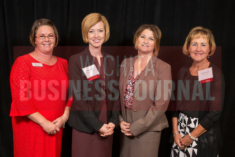 Jena Eubank-Cantwell, Innovative Corporate and Training Solutions, Kristen Spear, Mid American Credit Union, Angela Dailey, Capitol Federal, Cindy Poulson, Textron Aviation