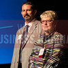 James Hall, dean of aviation, and Sheree Utash, president, Wichiat Area Technical College