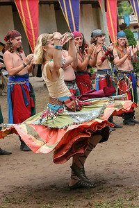 Gypsy dancer, Kansas City Renaissance Festival