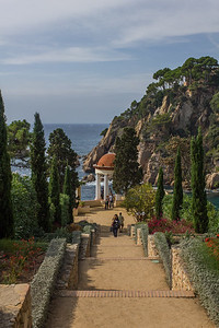 Costa Brava garden views