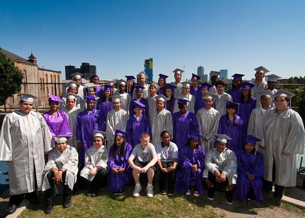 Tobin K-8 Graduation