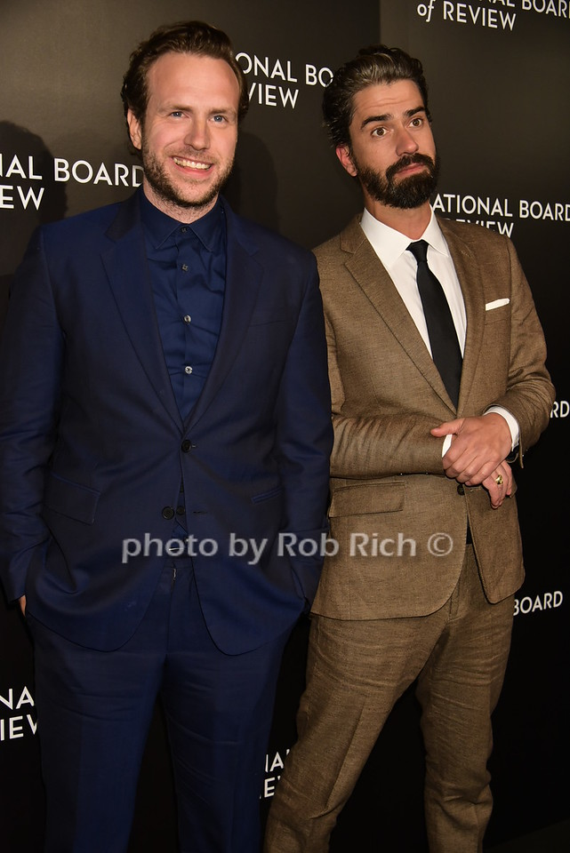 Rafe Spall, Hamish Linklater 