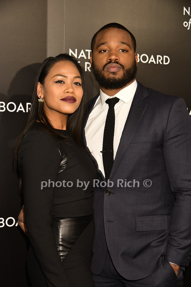 Zinzi Evans, Ryan Coogler (Director of CREED)