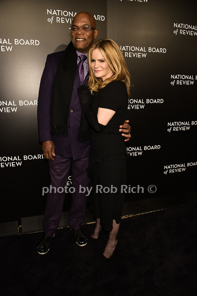 Samuel L.Jackson, Jennifer Jason Leigh photo by Rob Rich/SocietyAllure.com © 2016 robwayne1@aol.com 516-676-3939