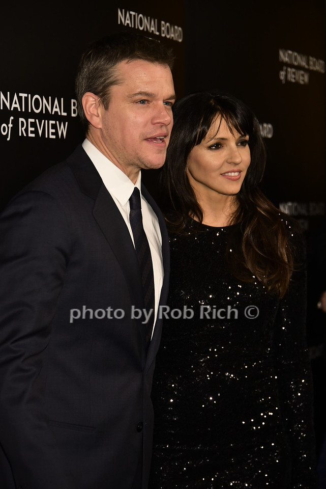 Matt Damon, Luciana Barroso (wife)