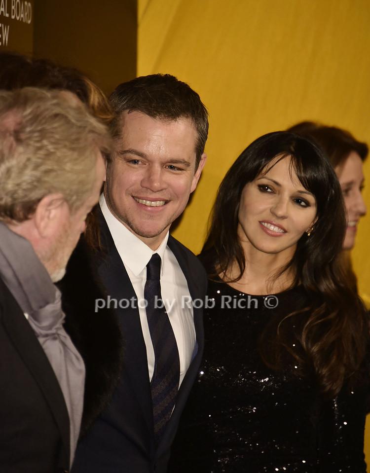 Matt Damon, Luciana Barroso (wife) photo by Rob Rich/SocietyAllure.com © 2016 robwayne1@aol.com 516-676-3939
