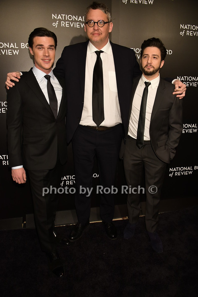 Finn Wittrock, Adam McKay, John Magaro ( The Big Short)