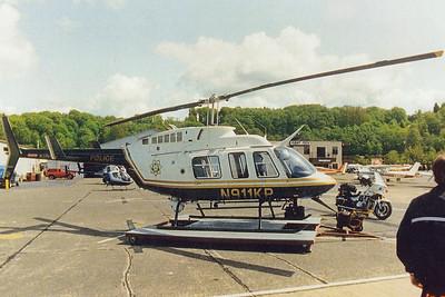 Year 1991 - N911KP on the original platform in front of Elliot Bay Aviation - Boeing Field