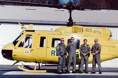 Year - 1999 / Boeing Field International BFI / Sgt Laing, Harold Scott, Jon Loye, Tim Shook