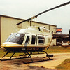 Year -1991 Long Ranger L3 N911KP at Bell Helicopter in Arlington; TX / Ready for Flight Home