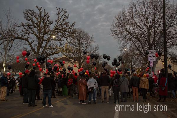 Vigil for Jamar Clark 11/15/16