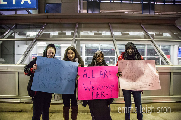 No Ban MSP Airport Protest 1/30/17