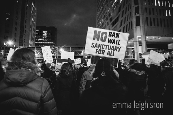 Speak Out Against Muslim Ban Rally & March 1/31/17