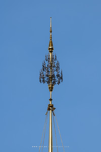 The Spire of Small Royal Chariot (Rajarot Noi), the Rehearsals for the Royal Funeral Processions for His Majesty King Bhumibol Adulyadej