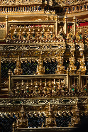 Details of Phra Maha Phichai Ratcharot (The Great Victory Chariot), the Rehearsals for the Royal Funeral Processions for His Majesty King Bhumibol Adulyadej