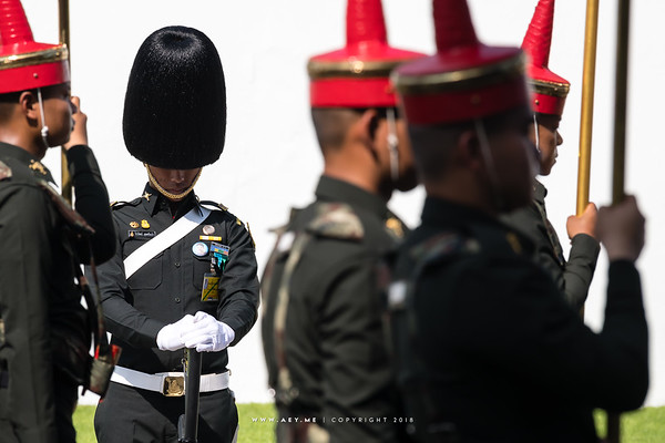 The Rehearsals for the Royal Funeral Processions for His Majesty King Bhumibol Adulyadej