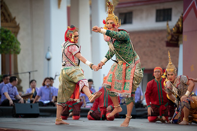 """Lakhon Nok Dance Drama """"Gomin's Mischief-Making Expedition"""" from """"Gomin"""""""