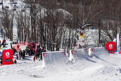 Mont-Tremblant, QC - January 26 -  Coupe Du Monde De Bosses Tremblant Final (70-200) at Tremblant, Photo par Gary Yee
