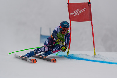 Mont-Tremblant, QC, Canada - December 22 2019:   Super Serie GS Homme at Tremblant  Photo par:  Gary Yee