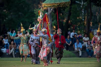 "Khon performance: ""The Sahassadeja Battle"""