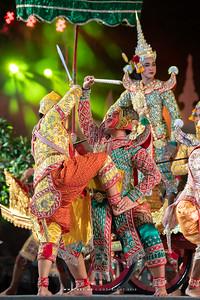 Khon, Un Ai Rak 2 at Dusit Palace