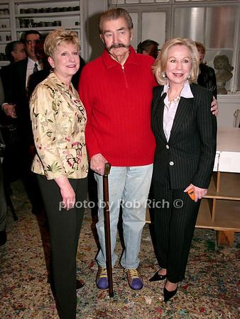 Jan Prokop, Leroy Neiman, Pat Palermo photo by Rob Rich © 2008 robwayne1@aol.com 516-676-3939