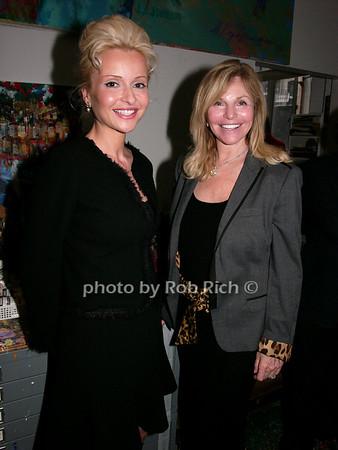Sandra Navidi, Judy Gilbert photo by Rob Rich © 2008 robwayne1@aol.com 516-676-3939