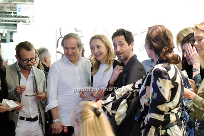 Adrien Brody Artwork reception at ART New York 2018