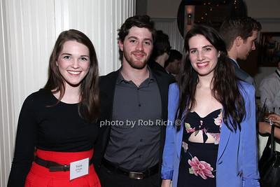 Tricia O'Toole, Christian Santilli, Kelsey Hogue
