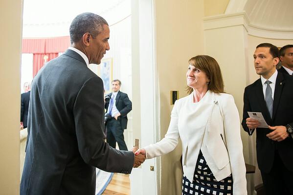 Caroline and the President