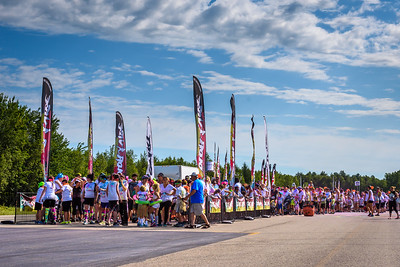 Course 5km Color Vibe à Blainville