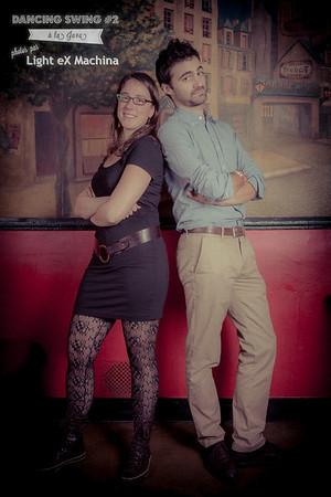 "Photobooth ""Dancing Swing #2 à La Java"" par Light eX Machina"