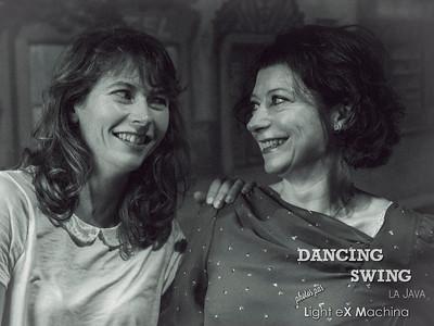 "Dancing Swing, photobooth ""portrait""  par Light eX Machina"