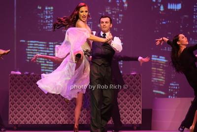 Sharna Burgess and Tony Dovoloni